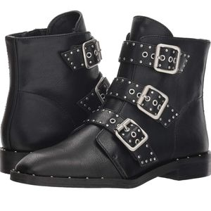 Chinese Laundry | Buckle Strap Ankle Boots